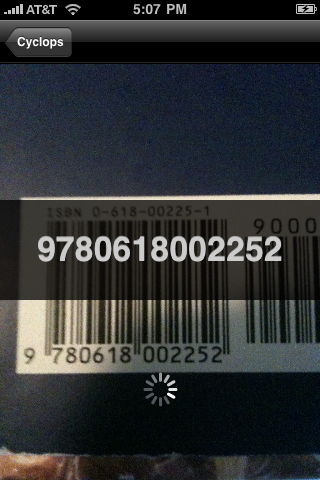 Cyclops is a free barcode scanner